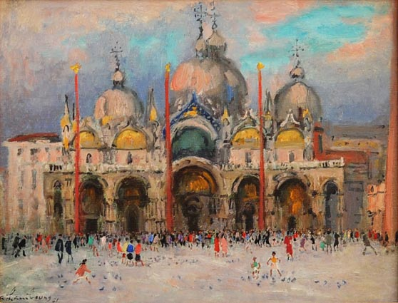 Fin de Jour -Place St. Marco (Sold)