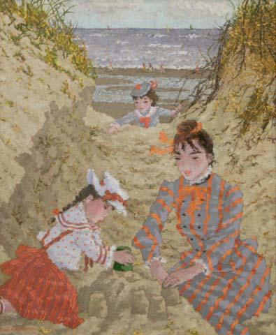 Dan les Dunes de St. Cecile a Maree Basse (Sold)
