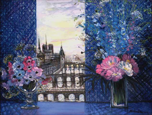 Paris en Bleu ...