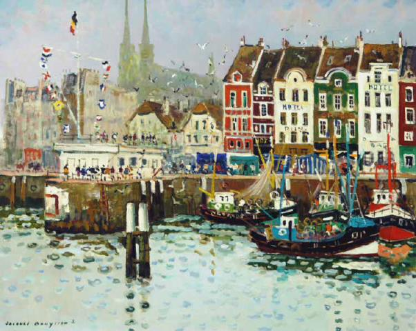 Le Port d'Ostende - (private collection)