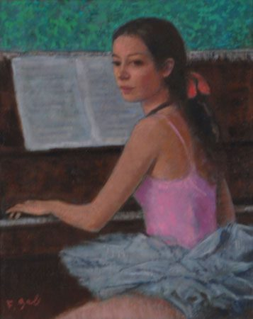 Piano Lesson (Sold)
