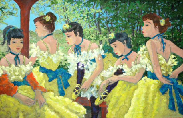 Ballerines avant L'Entree en Scene (Sold)