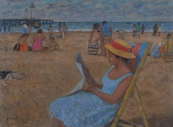 Plage de Trouville (sold)