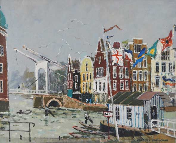 Amsterdam - Canal Rokim (Sold)