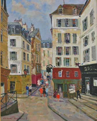 La Vieille Rue - Paris (Sold)