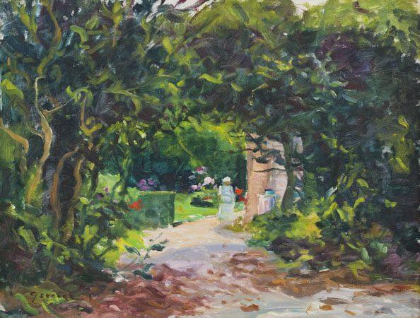 Garden in Summertime (Sold)