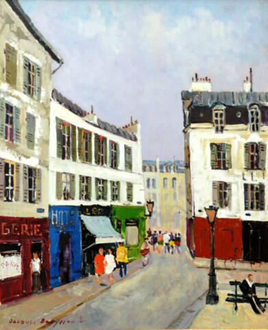 Paris - Montmartre (Sold)