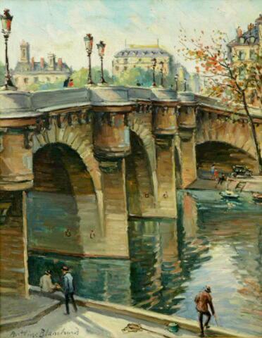 Paris - Pont Neuf (Sold)