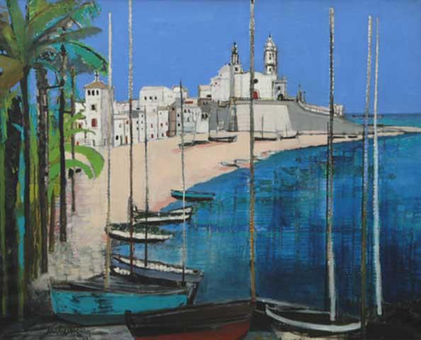 Sitges (Espagne) (Sold)