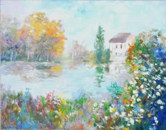 Un Moulin sur l'eure (Sold)