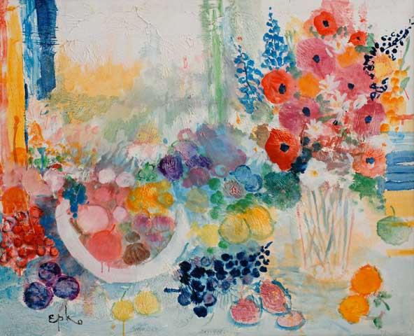 Fleur et Fruits (Sold)
