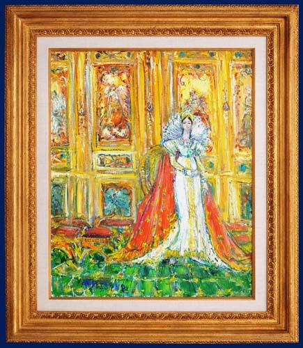 L'Imperatrice Josephine - Framed