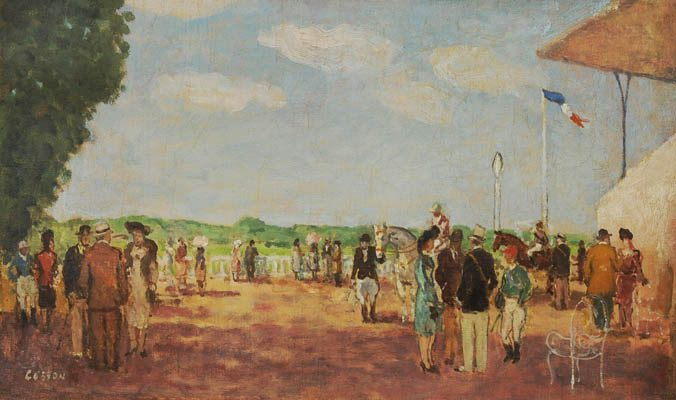Longchamp Race Track (Sold)