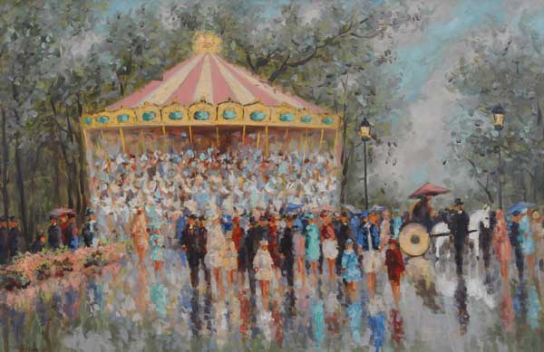 Carousel in the Park (Sold)
