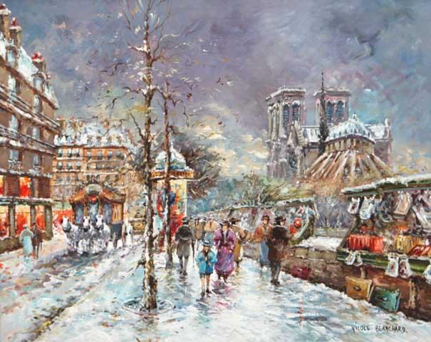Notre Dame Neige (Sold)