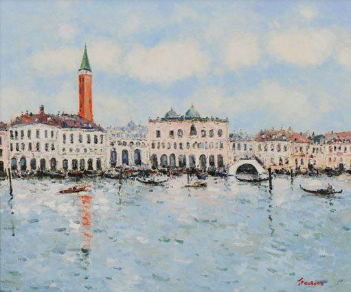 La Piazetta a Venice (Sold)