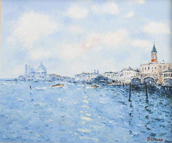 Coucher de Soleil sur Venice