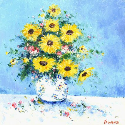 Le Bouquet de Tournesol (Sold)
