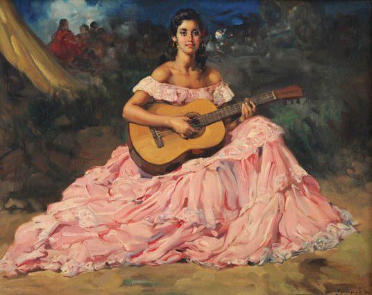 Gypsy Guitariste ::.