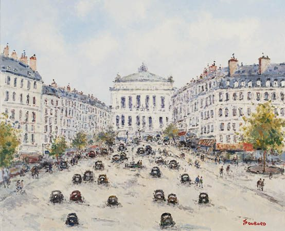Paris, Avenue de l'Opera (Sold)