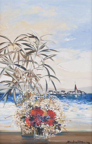 Flowers by Shore (Sold)