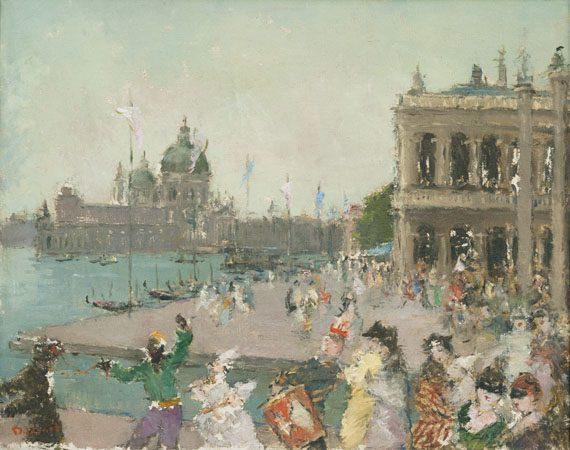 Carnival in Venice (Sold)