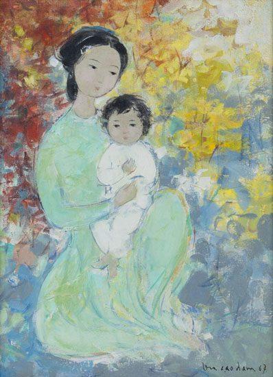 Mere et Enfant (Sold)