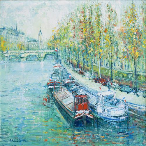 Paris - Seine River (Sold)