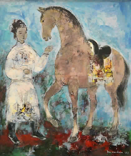 Le Cavalier (Sold)