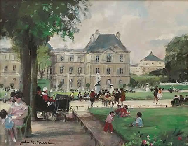 Jardin du Luxcembourg (Sold)