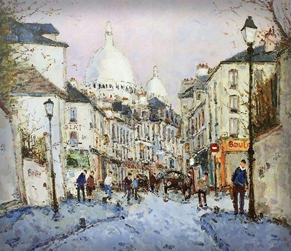 Rue Norvin a Montmartre (Sold)