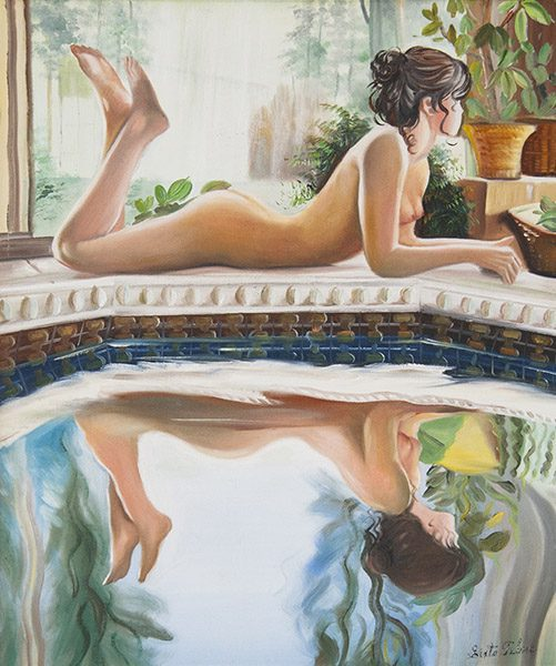 Nude with Reflection