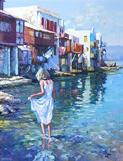 Reflection of Mykonos (sold)