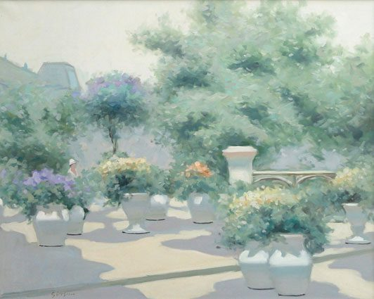 Garden in Paris (Sold)