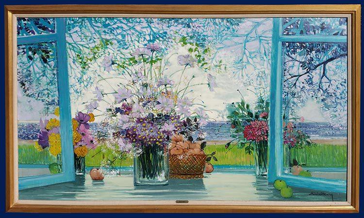 Bouquet d'Ete Framed