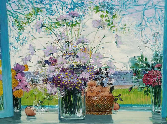 Bouquet d'Ete On Wall