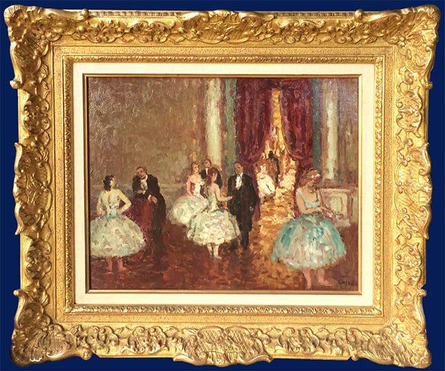 Les Ballerines Framed
