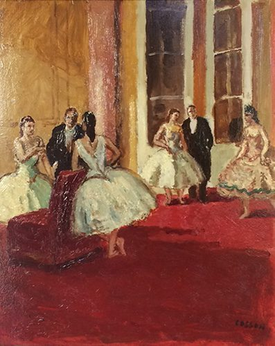 Le Foyer de l'Opera (sold)
