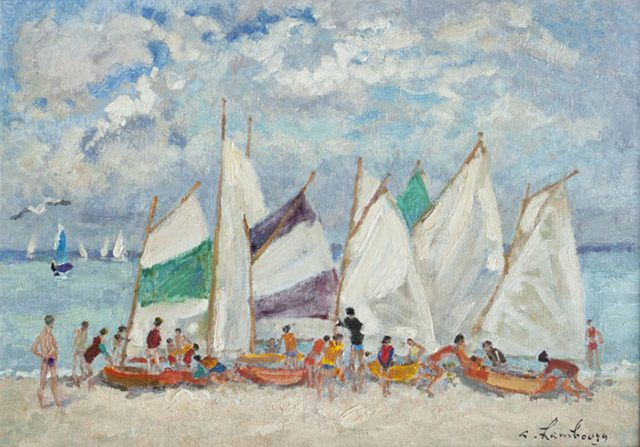 Sailboats (Sold)