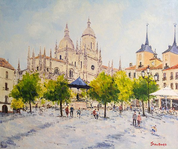 Plaza Mayor Segovia (Sold)