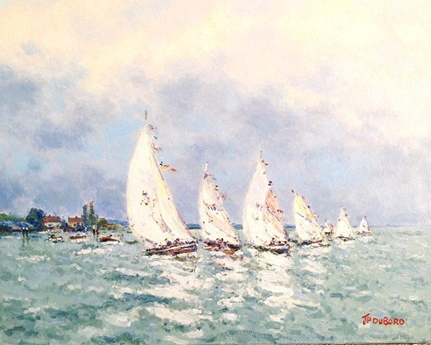 Sailboats (Regate)...