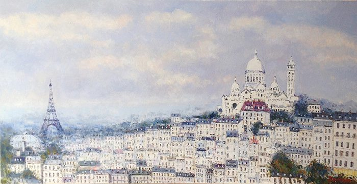 Vue de Paris (sold)