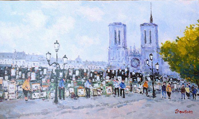 Notre Dame et Bouquinistes (sold)