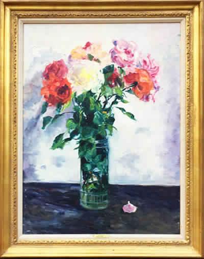 Roses Framed
