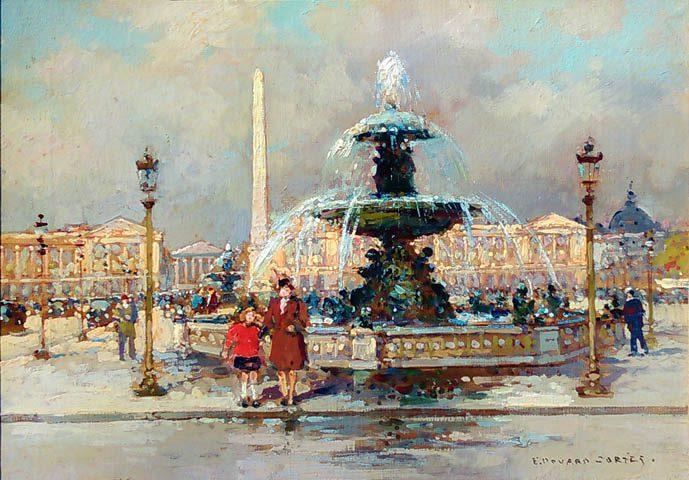 Fontaine Place de la Concorde -
