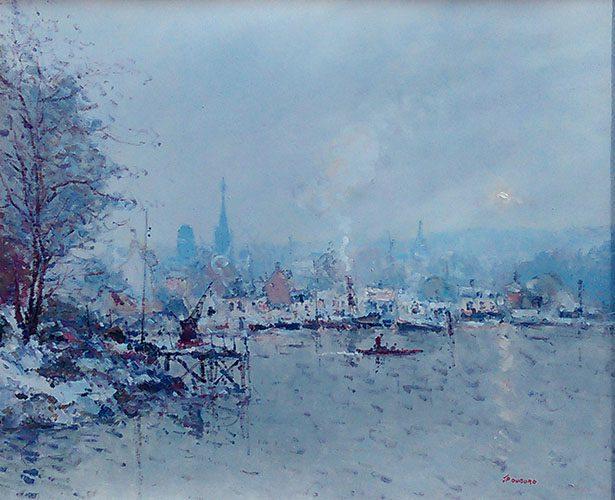 La Seine Eackylet en Hiver ...