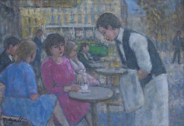 A la Terrasse du Cafe