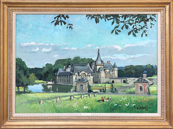 Chantilly Framed