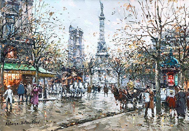 Place du Chatelet Tour St. Jacques (sold)