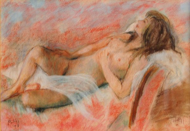 Reclining Nude (Sold)